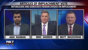 FOX 7 Discussion: House votes on impeachment