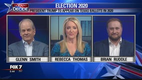 FOX 7 Discussion: Patrick files paperwork for Trump to appear on Texas primary ballots