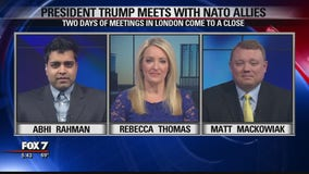 FOX 7 Discussion: Trump meets with NATO allies