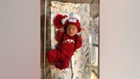 Couple welcomes baby girl on Christmas morning in Round Rock