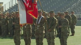 Texas National Guardsmen leave for the Middle East