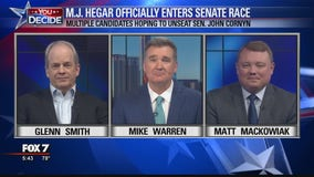 FOX 7 Discussion: MJ Hegar files to run against Sen. John Cornyn
