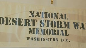 Design for Operation Desert Storm war memorial unveiled in Fredericksburg