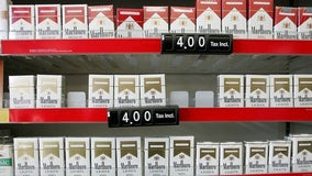 Federal legal age to buy tobacco products raised to age to 21 as part of spending package
