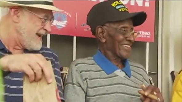 Richard Overton's East Austin home receives historic landmark status from City Council