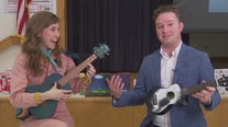 Learning to play the Ukulele with Emily Arrow