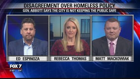 FOX 7 Discussion: Disagreement over Austin's homeless policy