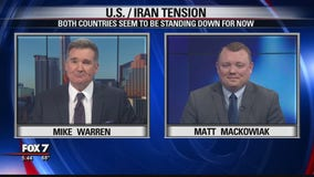 FOX 7 Discussion: Tensions between US, Iran after missile strike