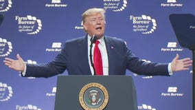 President Trump celebrates trade deals at Austin Farm Bureau Federation's annual convention