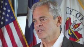 Austin Mayor Steve Adler looks to Gov. Abbott to provide funding to aid homelessness in Texas