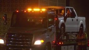 DPS arrests juvenile driving stolen truck used to hit trooper vehicle