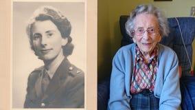 Anne Robson, believed to be UK's oldest living WWII female veteran, dies at 108
