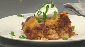 Good Day Cooks: Chili cheese tater tot casserole
