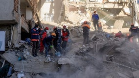 Death toll from strong eastern Turkey earthquake up to 29; rescue workers continue to search for survivors