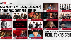 Rodeo Austin releases 2020 entertainment lineup