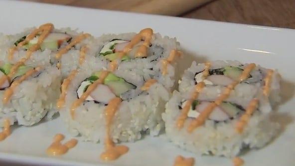 Sushi with Chef Ana Kimos