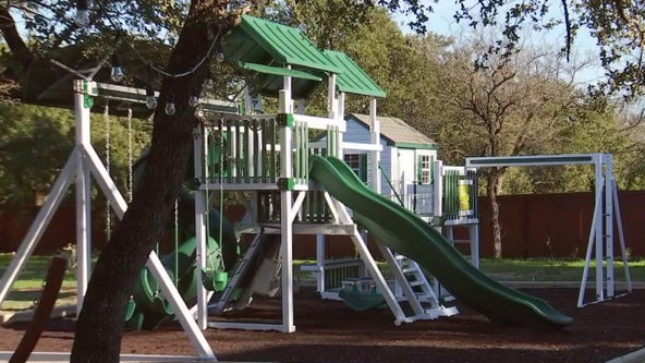 Georgetown family sued over backyard swing set purchased for terminally ill child