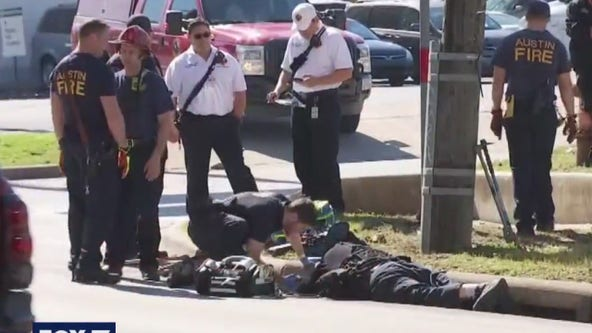 """Austin emergency crews rescue man who was stuck in storm drain for """"2 days"""""""