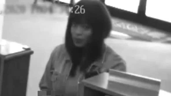 Killeen Police seeking information about woman who robbed bank