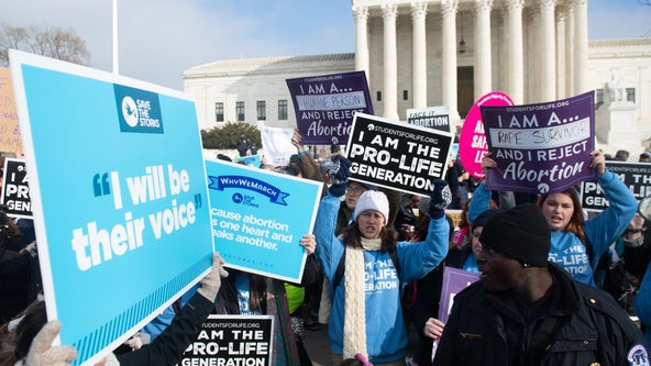 Texas Rally for Life commemorating 47th anniversary of Roe V. Wade at Texas Capitol