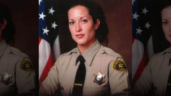 Memorial service held for sheriff's detective struck, killed by car after helping elderly woman cross street