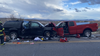 5-year-old girl taken off life support after being injured in Northern Arizona wrong-way crash