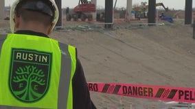 Austin FC shares progress on stadium construction