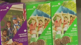 One final Girl Scout cookie booth for top selling Pflugerville teen