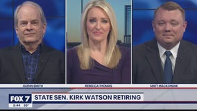 FOX 7 Discussion: State Sen. Kirk Watson resigns