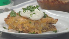 Good Day Cooks: Cheesy Beef Enchilada Casserole
