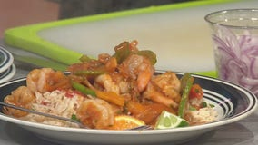 Good Day Cooks: Shrimp with sweet pepper and jasmine rice
