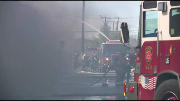 Over 100 firefighters respond to San Antonio fire