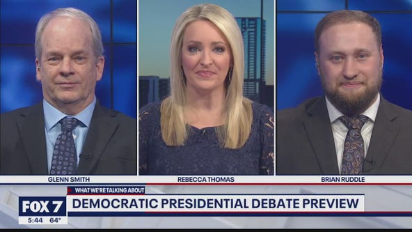 FOX 7 Discussion: Democrats hold final debate before Super Tuesday