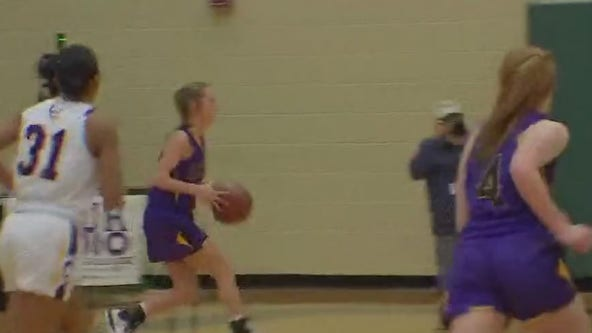 Liberty Hill takes on La Grange in high school girls basketball playoffs