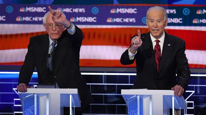 Sanders braces for attacks in debate-stage clash