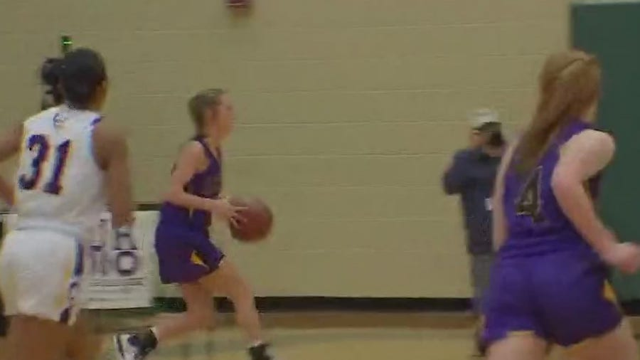 Liberty Hill takes on La Grange in high school girls basketball playoffs