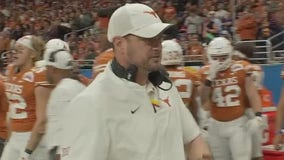 Texas head football coach Tom Herman talks about next season, Ehlinger's COVID-19 GoFundMe