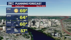 Evening weather forecast for March 31, 2020