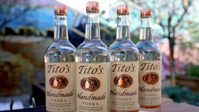 Tito's Vodka providing free hand sanitizer to Austinites on July 2