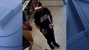Search for armed suspect who stole purses in Texas State dining hall