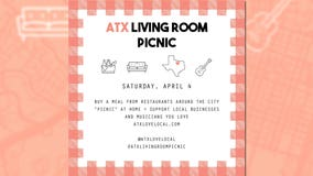ATX Living Room Picnic event to help support local businesses & musicians