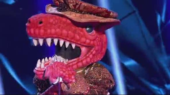 T-Rex is a YouTube star and most of 'The Masked Singer' panel knew it