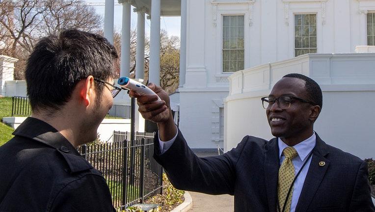 GETTY white house temp check 031420