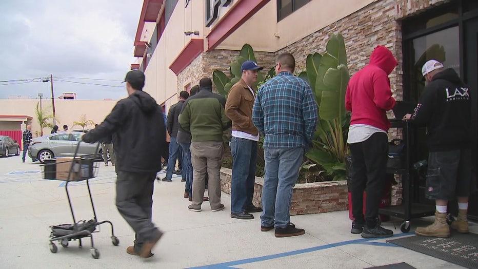 Coronavirus concerns sends shoppers to gun shops