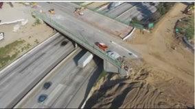 Crews to demolish Burbank Boulevard bridge over 5 Freeway April 25-27