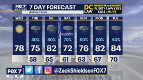 Noon weather forecast for April 1, 2020
