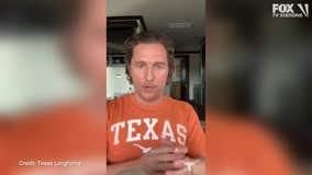 Matthew McConaughey addresses UT students in a heartfelt video amid coronavirus outbreak