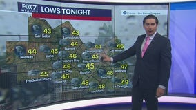 Evening weather forecast for April 3, 2020