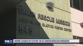 More cases of COVID-19 at Union Rescue Mission