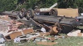 Tornado rips through Blanco County RV park